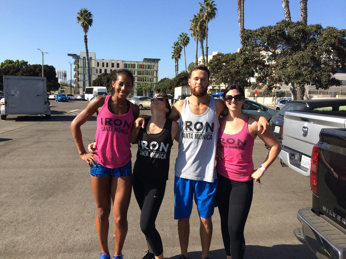 The Iron Fitness crew.
